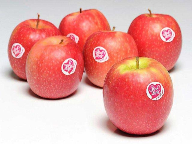 Les pomes Pink Lady